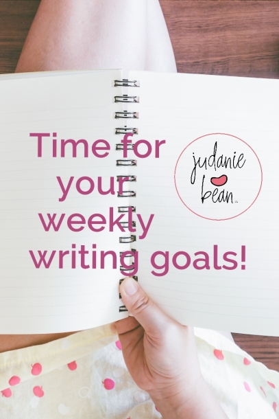 weeklywriting goals2